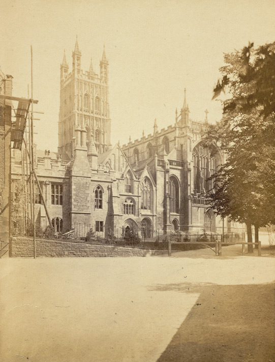 Gloucester Cathedral, And Deanery, From The North West